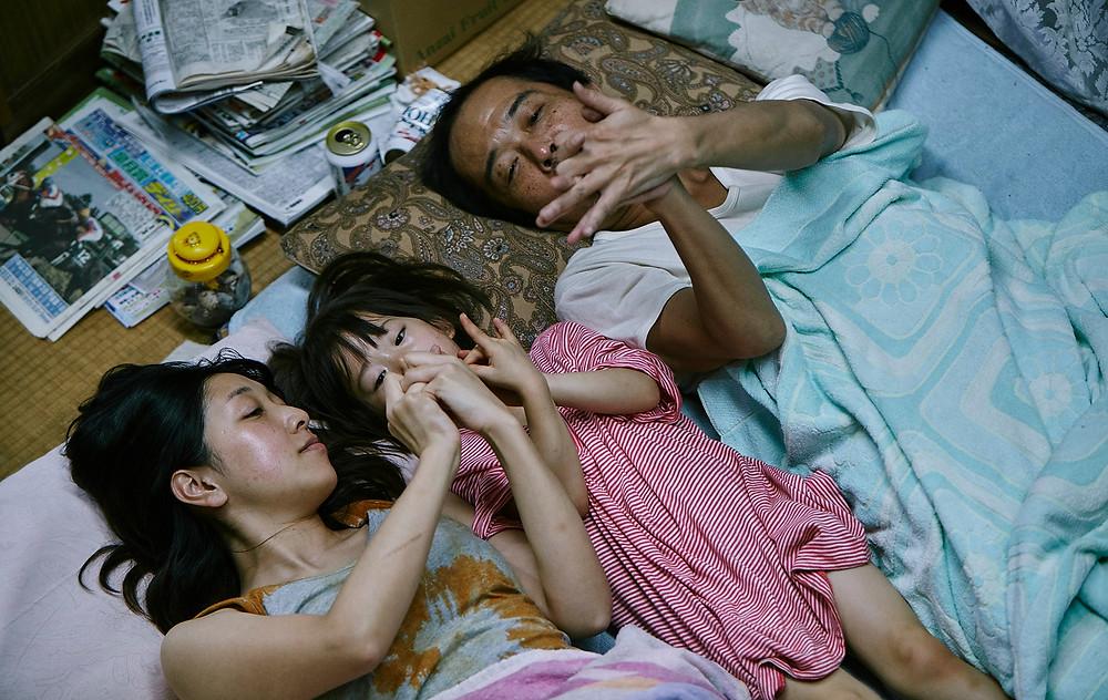 Cena do filme japonês Assunto de Família (2018) | Foto: Divulgação (Mostra Internacional de Cinema em São Paulo)