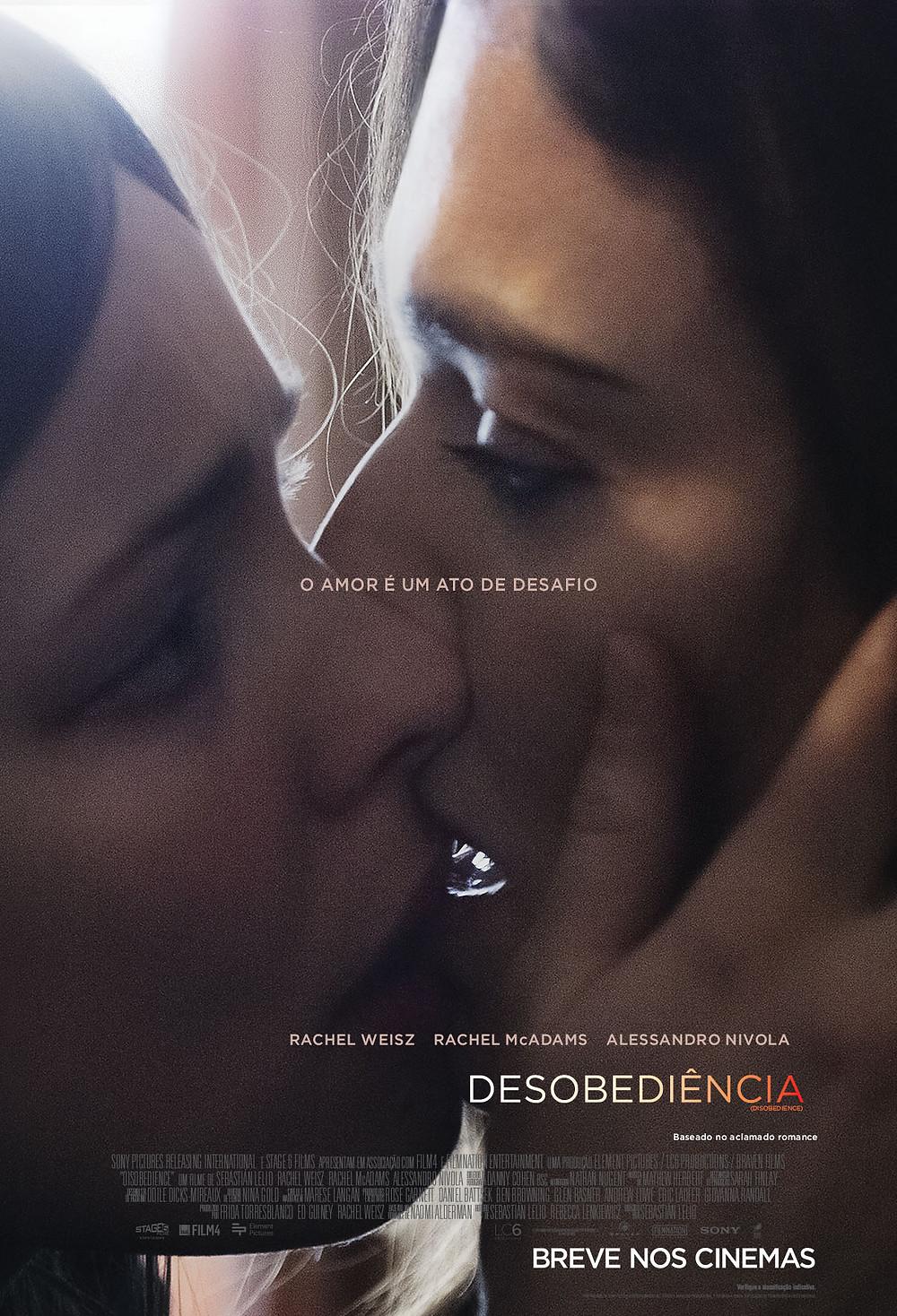 Pôster de Desobediência (2017)   Divulgação (Sony Pictures)