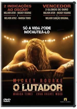 Capa do DVD do filme O Lutador (2008)