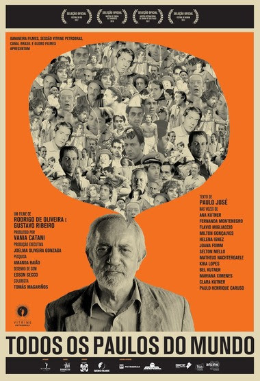 Cartaz do documentário Todos os Paulos do Mundo (2017) | Divulgação (Sessão Vitrine Petrobras)