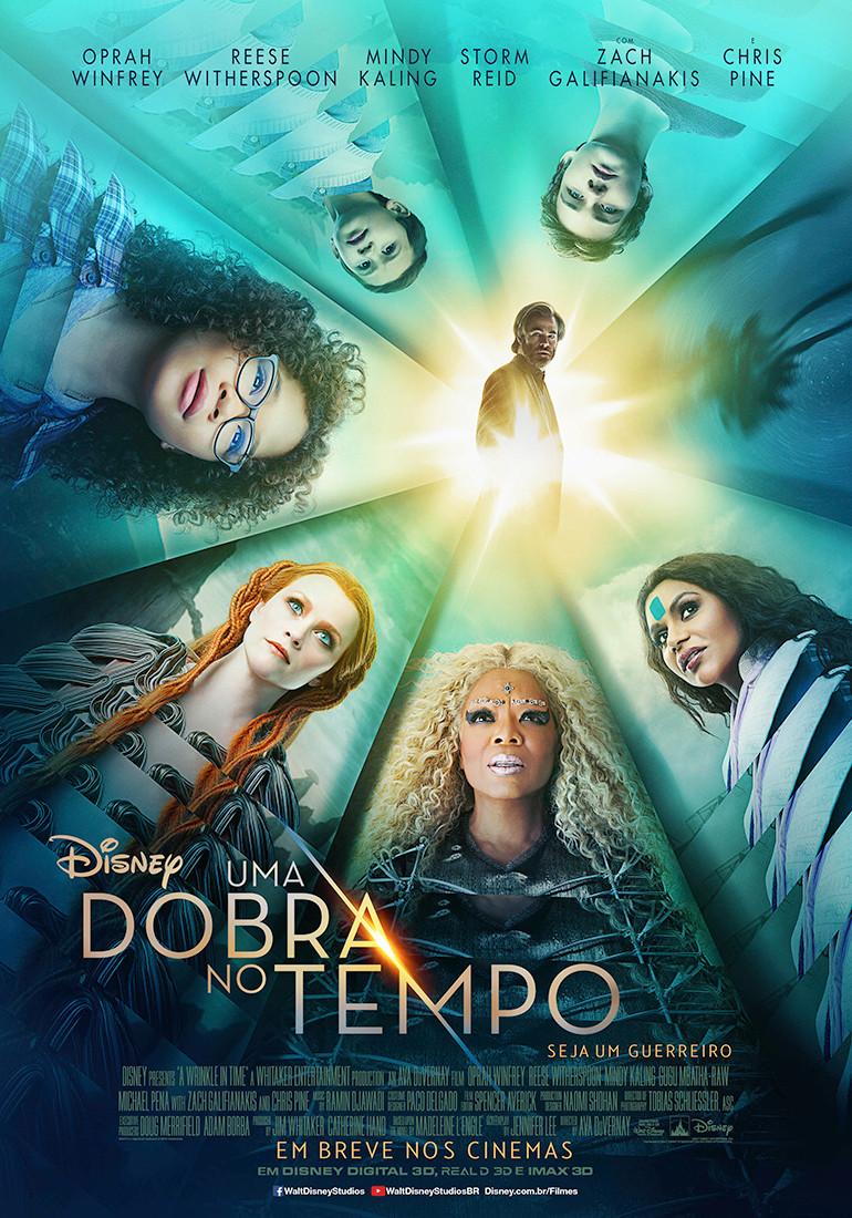 Cartaz do filme Uma Dobra no Tempo (2018) | Divulgação (Disney)