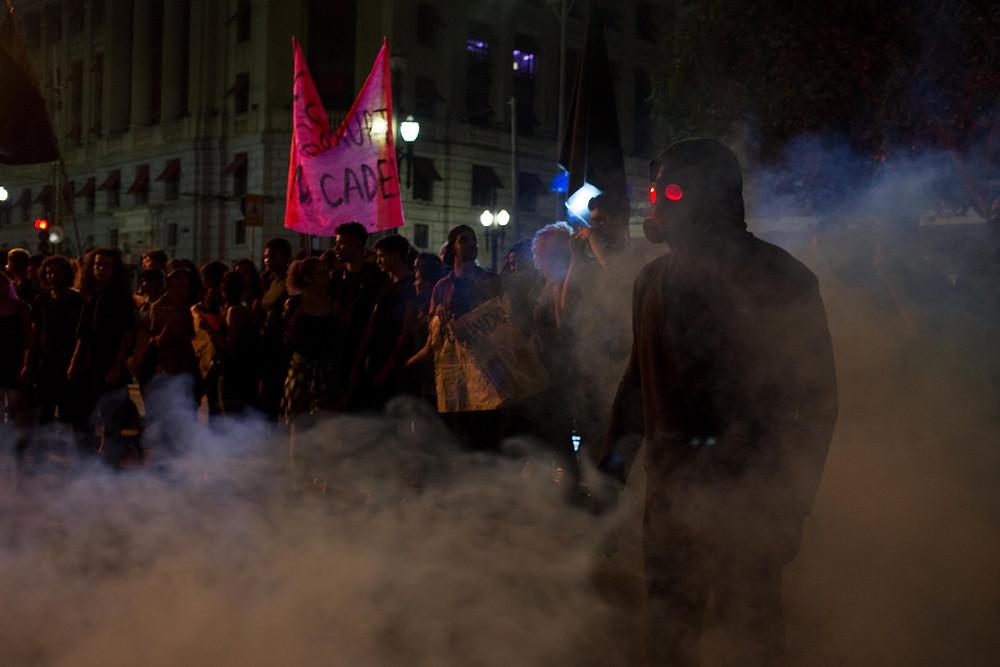 Cena de O Doutrinador (2018) | Foto: Divulgação (Downtown Filmes)