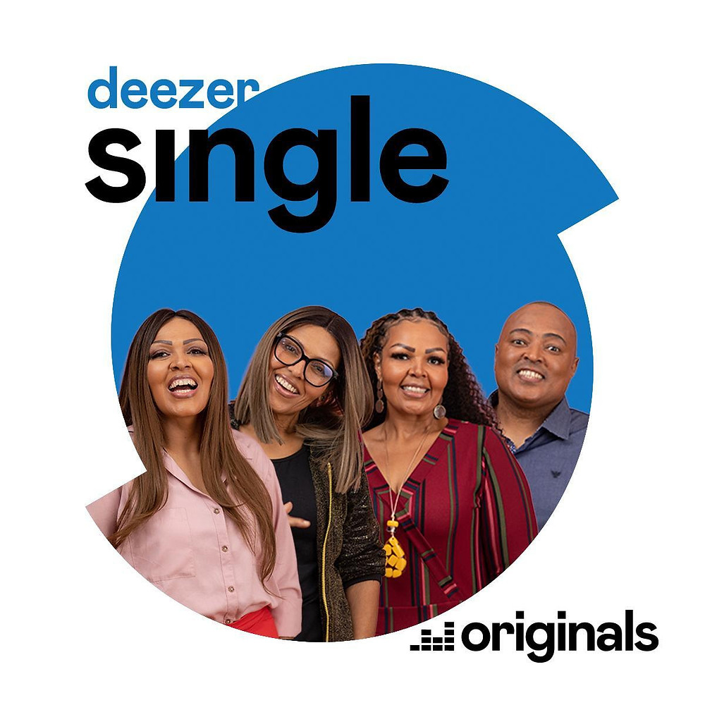O grupo musical Fat Family na capa do projeto Deezer Single | Foto: Divulgação (Deezer Brasil)