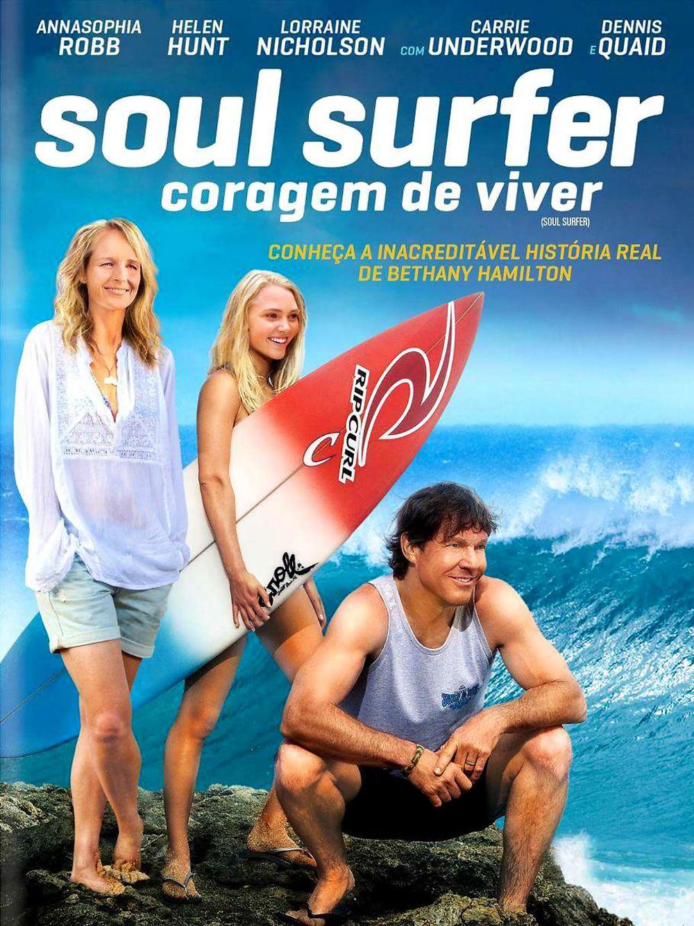 Pôster do filme Soul Surfer – Coragem de Viver (2011) | Divulgação