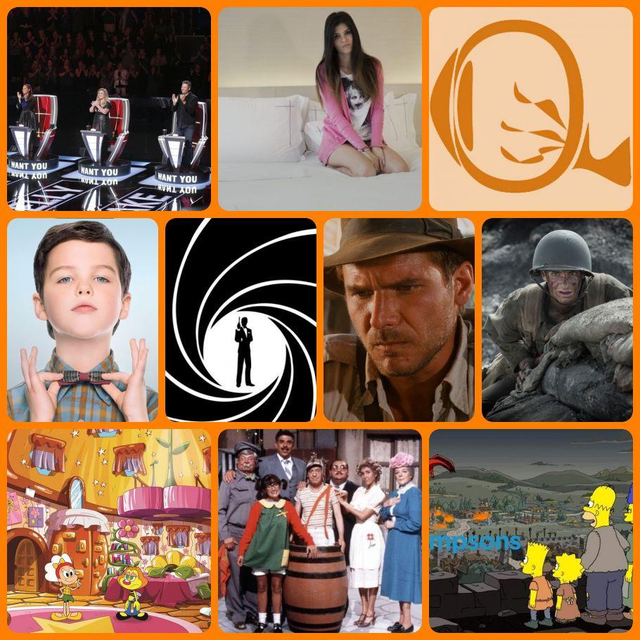 Resumão #47: final do The Voice, Outros Tempos - Jovens, Young Sheldon, maratonas de James Bond e Indiana Jones, Até o Último Homem, Zuzubalândia, Chaves e Os Simpsons | Fotos: Divulgação
