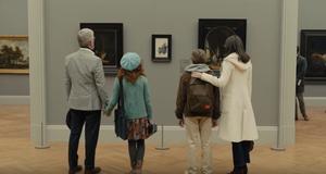 Robert Joy, Aimee Laurence, Oakes Fegley e Hailey Wist em cena do filme O Pintassilgo (2019) | Foto: Divulgação