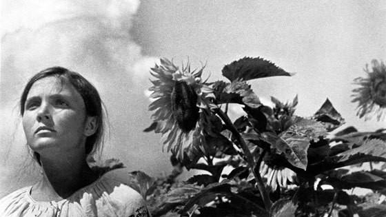 Cena do filme soviético Terra (1930), de Aleksandr Dovjenko
