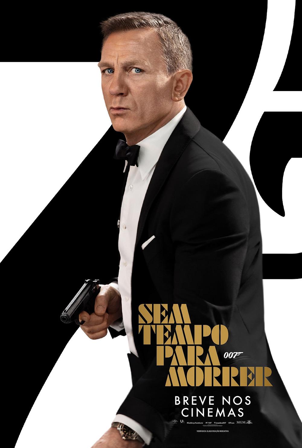 Pôster do filme 007 – Sem Tempo Para Morrer (2020), de Cary J. Fukunaga | Divulgação (Universal Pictures)