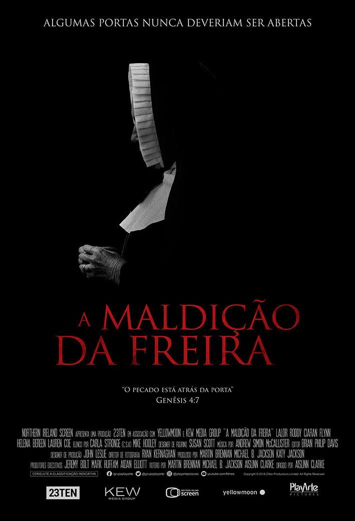 Cartaz de A Maldição da Freira (2018) | Divulgação (PlayArte)