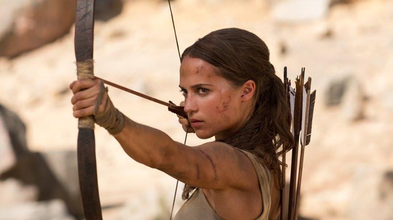 Alicia Vikander em Tomb Raider – A Origem (Tomb Raider, 2018) | Foto: Divulgação (Warner Bros. Pictures)