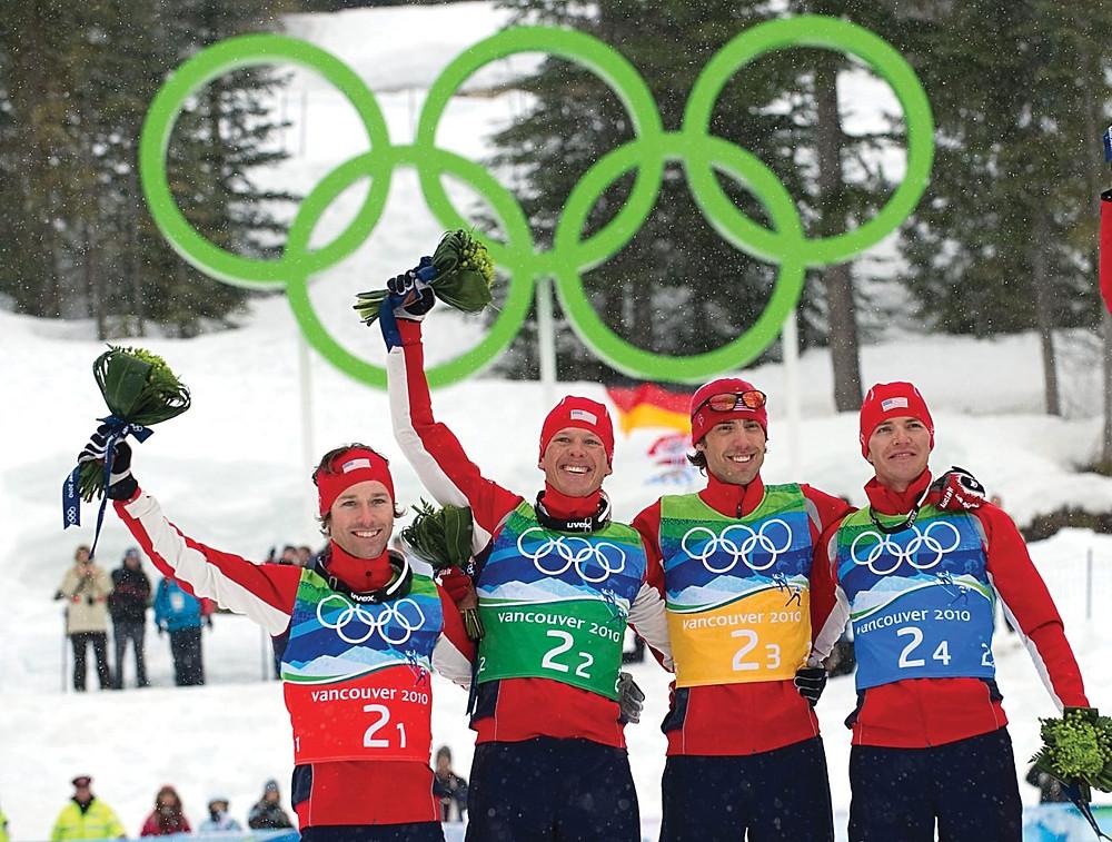 Time dos EUA de Combinado Nórdico, campeão em Vancouver 2010