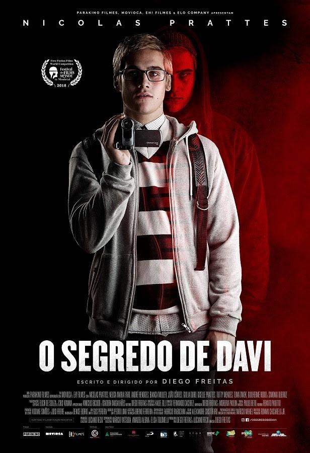 Cartaz de O Segredo de Davi (2018) | Divulgação (Parakino Filmes)