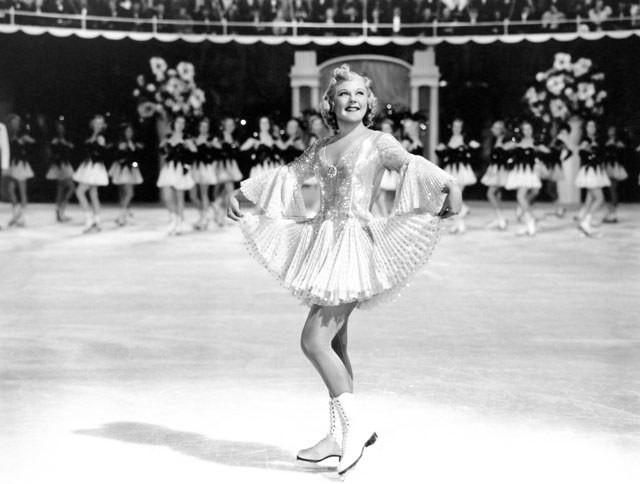 Sonja Henie em A Rainha do Patim (1936)