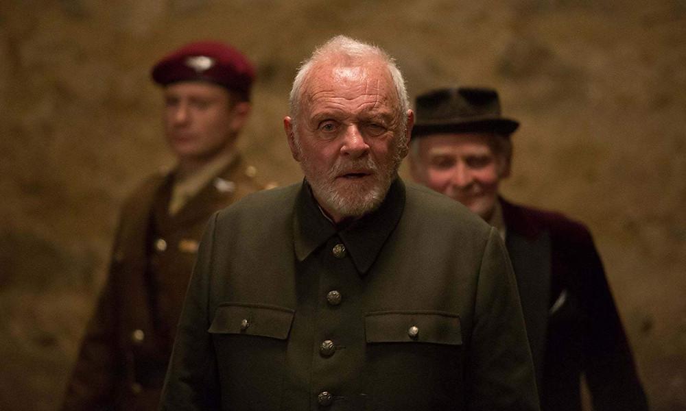 Anthony Hopkins em cena do telefilme King Lear (2018) | Foto: Divulgação