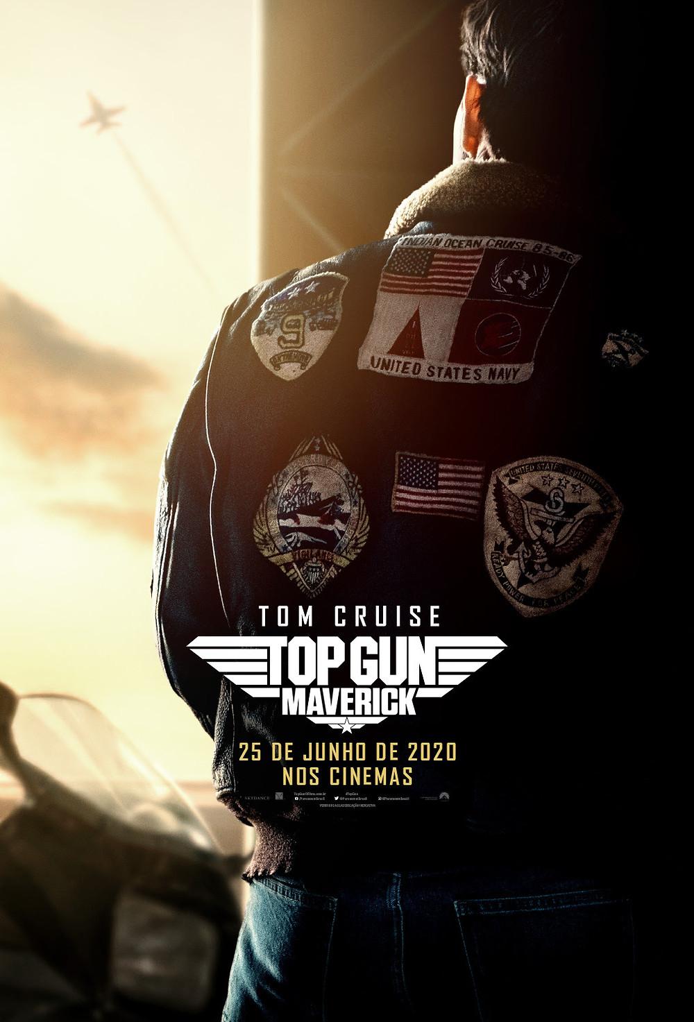 Cartaz do filme Top Gun: Maverick (2019) | Divulgação (Paramount Pictures)