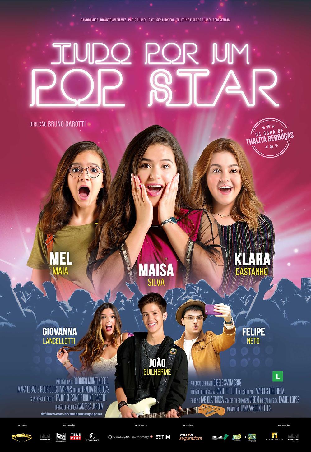 Cartaz do filme Tudo por um Pop Star (2018) | Divulgação