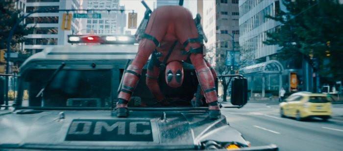 Ryan Reynolds como o anti-herói em Deadpool 2 (2018) | Foto: Divulgação (20th Century Fox)