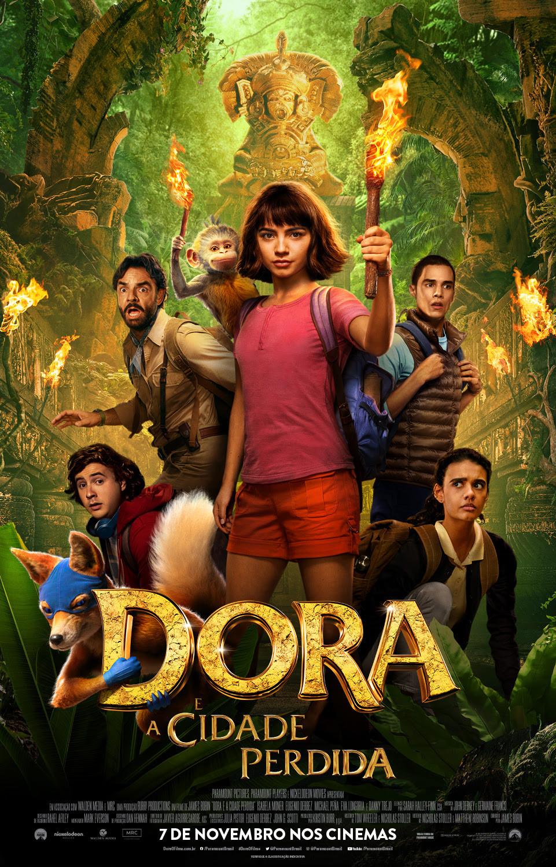 Novo pôster do filme Dora e a Cidade Perdida (2019) | Divulgação (Paramount Pictures)