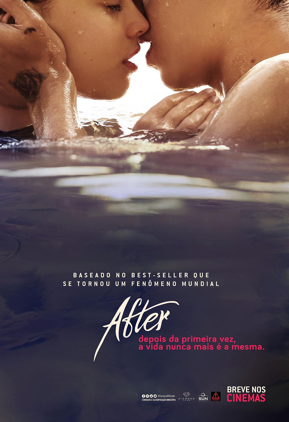 Teaser pôster do filme After (2018) | Divulgação (Diamond Films)