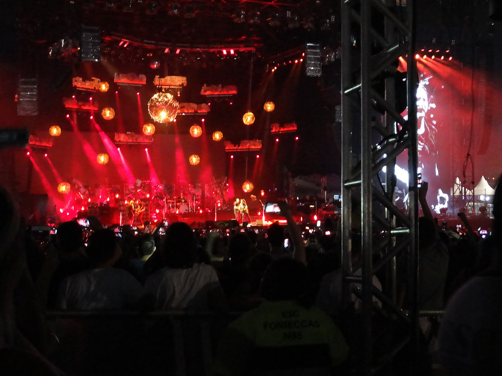 A banda norte-americana Pearl Jam no Lollapalooza 2018 | Foto: Nayara Reynaud