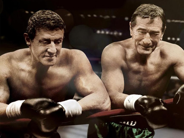 Sylvester Stallone e Robert De Niro em Ajuste de Contas (2013) | Foto: Divulgação
