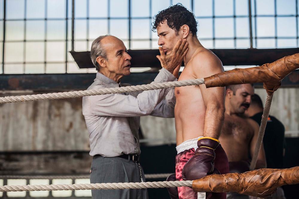 Osmar Prado e Daniel de Oliveira em 10 Segundos Para Vencer (2018) | Foto: Divulgação (Créditos: Gui Maia)