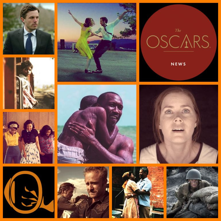 Destaques do Academy Awards 2017, na montagem da Escalada do Oscar do NERVOS