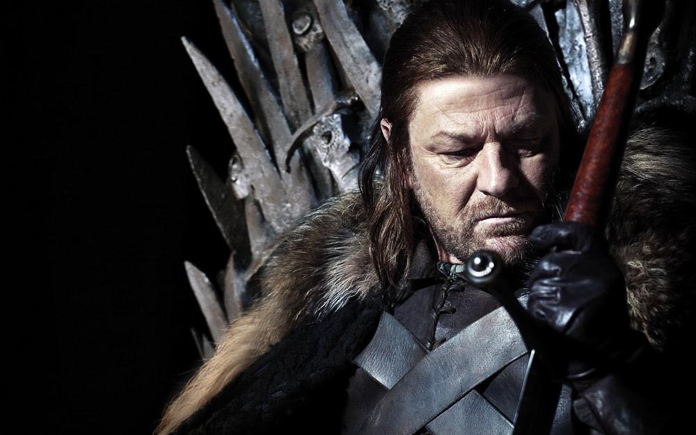 Sean Bean em foto de divulgação da série Game of Thrones (2011-) | Foto: Divulgação