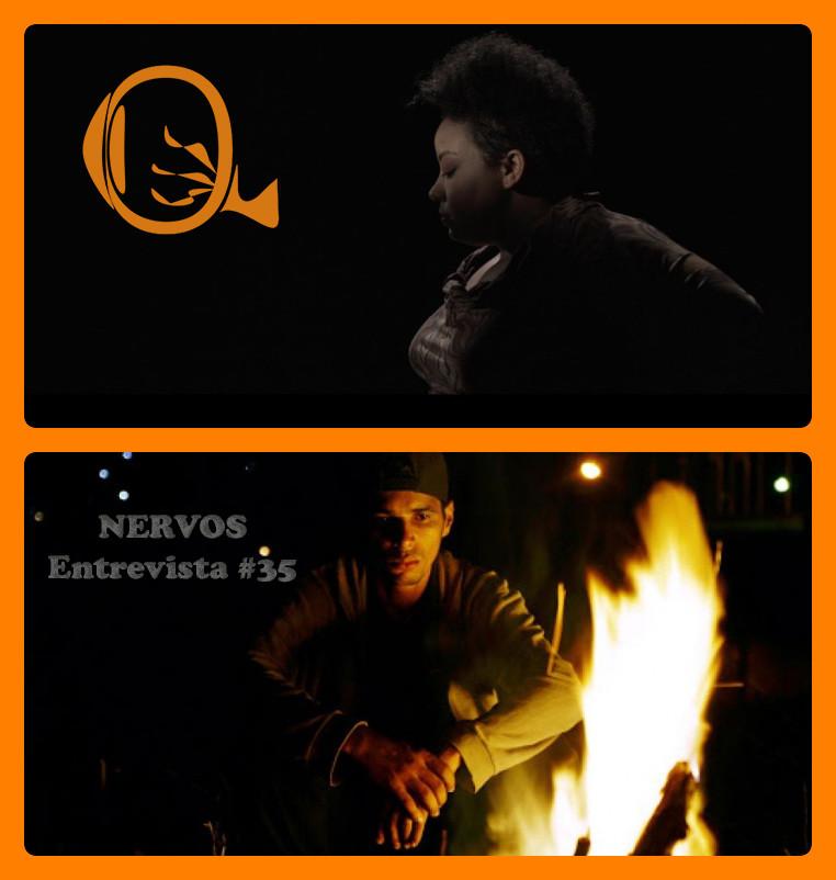 NERVOS Entrevista #35 | Grace Passô em cena do média-metragem Vaga Carne (2019) e Rafael dos Santos Rocha em cena do média Sete Anos em Maio (2019) | Fotos: Divulgação (Embaúba Filmes)