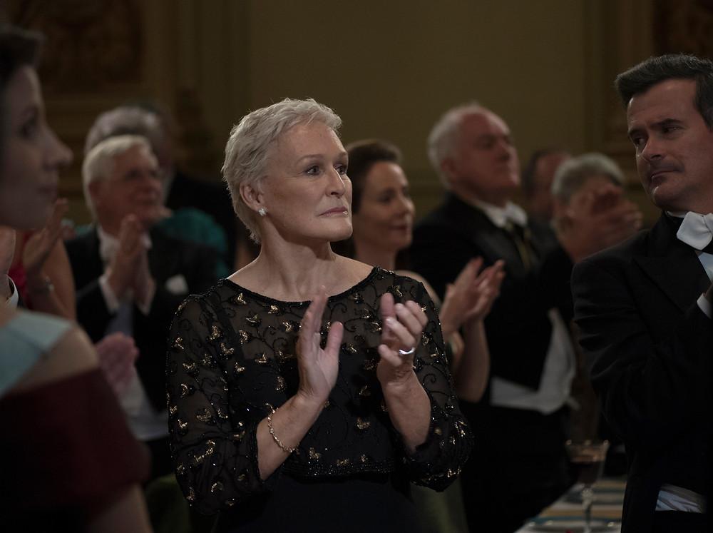 Gleen Close em cena do filme A Esposa (The Wife, 2017) | Foto: Divulgação (Alpha Filmes / Pandora Filmes)