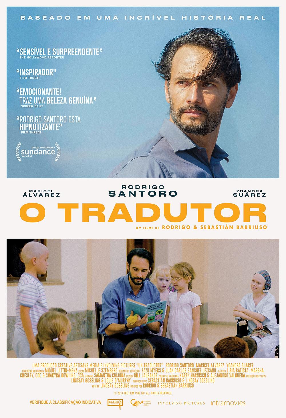 Cartaz do filme cubano-canadense O Tradutor (2018) | Divulgação