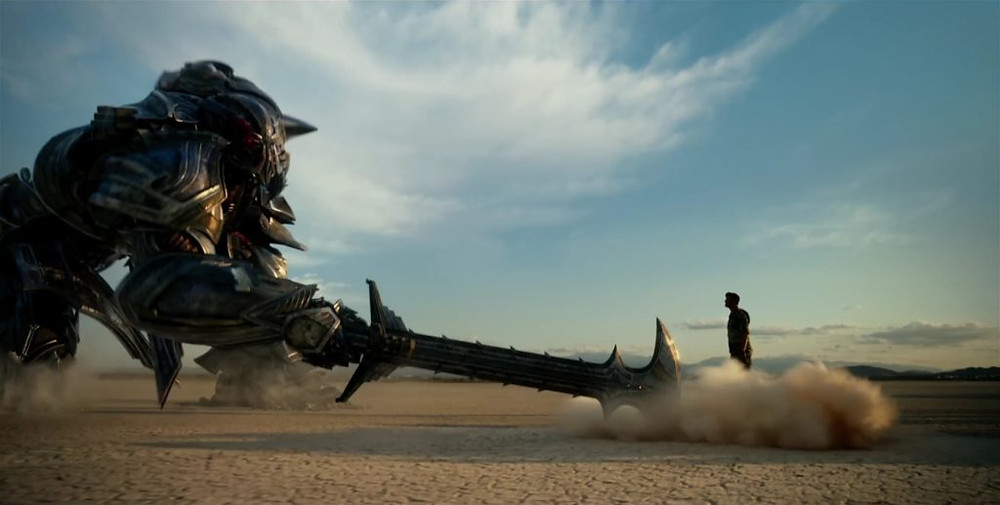 Mark Wahlberg em cena do filme Transformers: O Último Cavaleiro (2017) | Foto: Divulgação (Paramount)