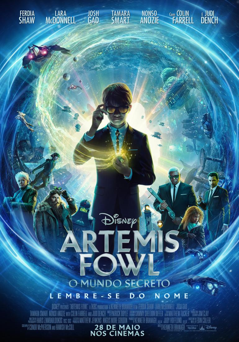 Cartaz do filme Artemis Fowl: O Mundo Secreto (2020) | Divulgação: Disney