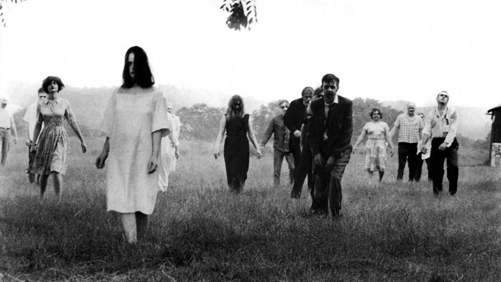 O clássico de terror zumbi A Noite dos Mortos-Vivos (1968), de George A. Romero