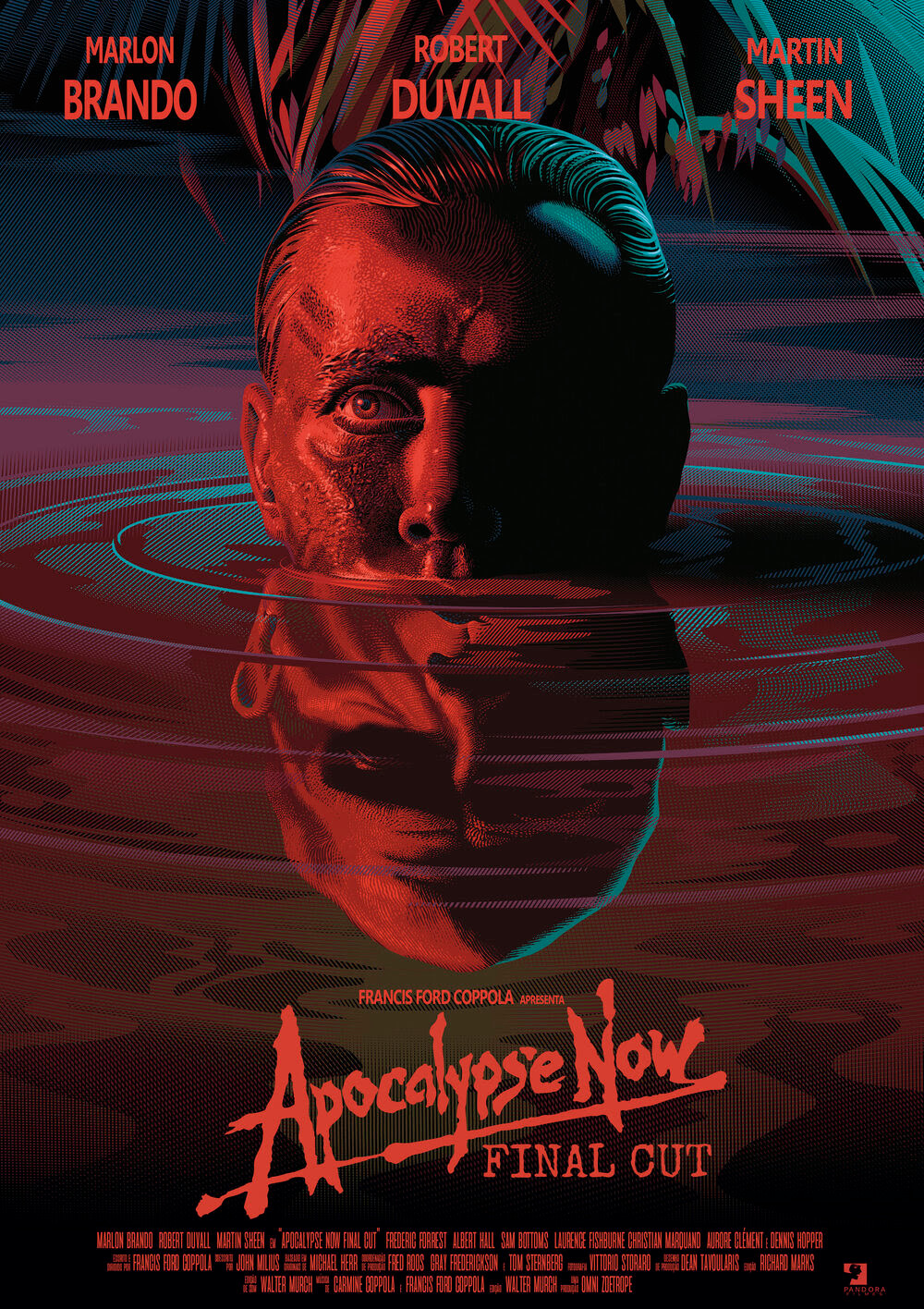 Cartaz de Apocalypse Now: Final Cut (2020), nova versão do filme de 1979 de Francis Ford Coppola | Divulgação (Pandora Filmes)