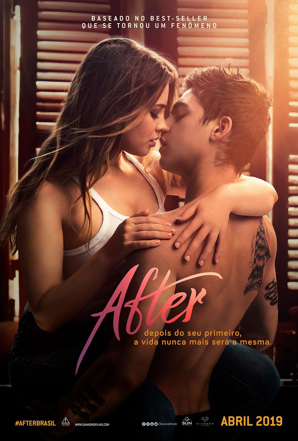 Pôster do filme After (2019) | Divulgação (Diamond Films)