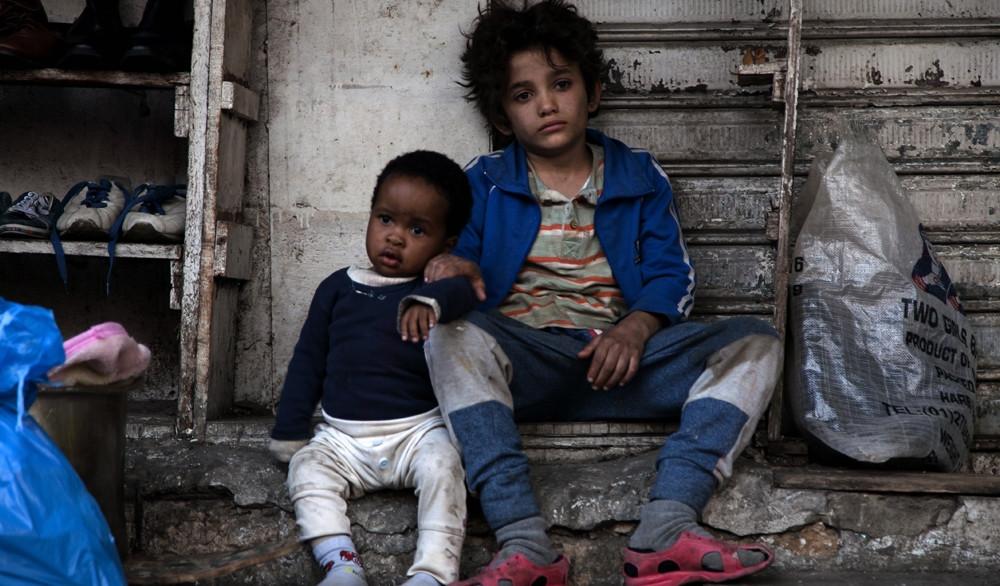 Boluwatife Treasure Bankole e Zain Al Rafeea no filme libanês Cafarnaum (2018) | Foto: Divulgação