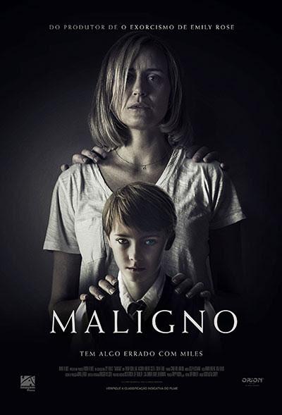 Cartaz do terror Maligno (2019) | Divulgação (Imagem Filmes)