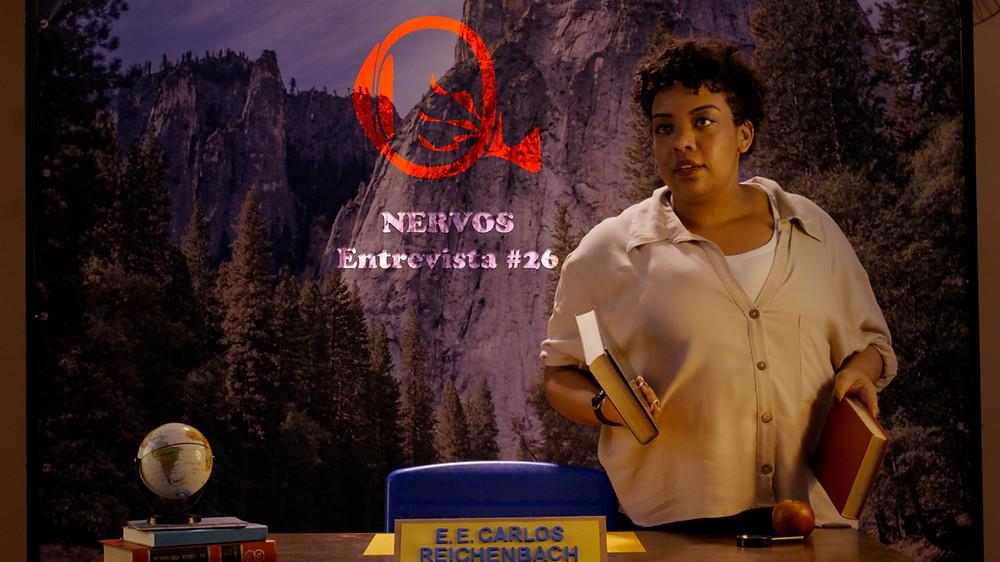 NERVOS Entrevista #26 | A atriz Grace Passô em cena do filme mineiro No Coração do Mundo | Foto: Divulgação Embaúba Filmes (Créditos: Leonardo Feliciano