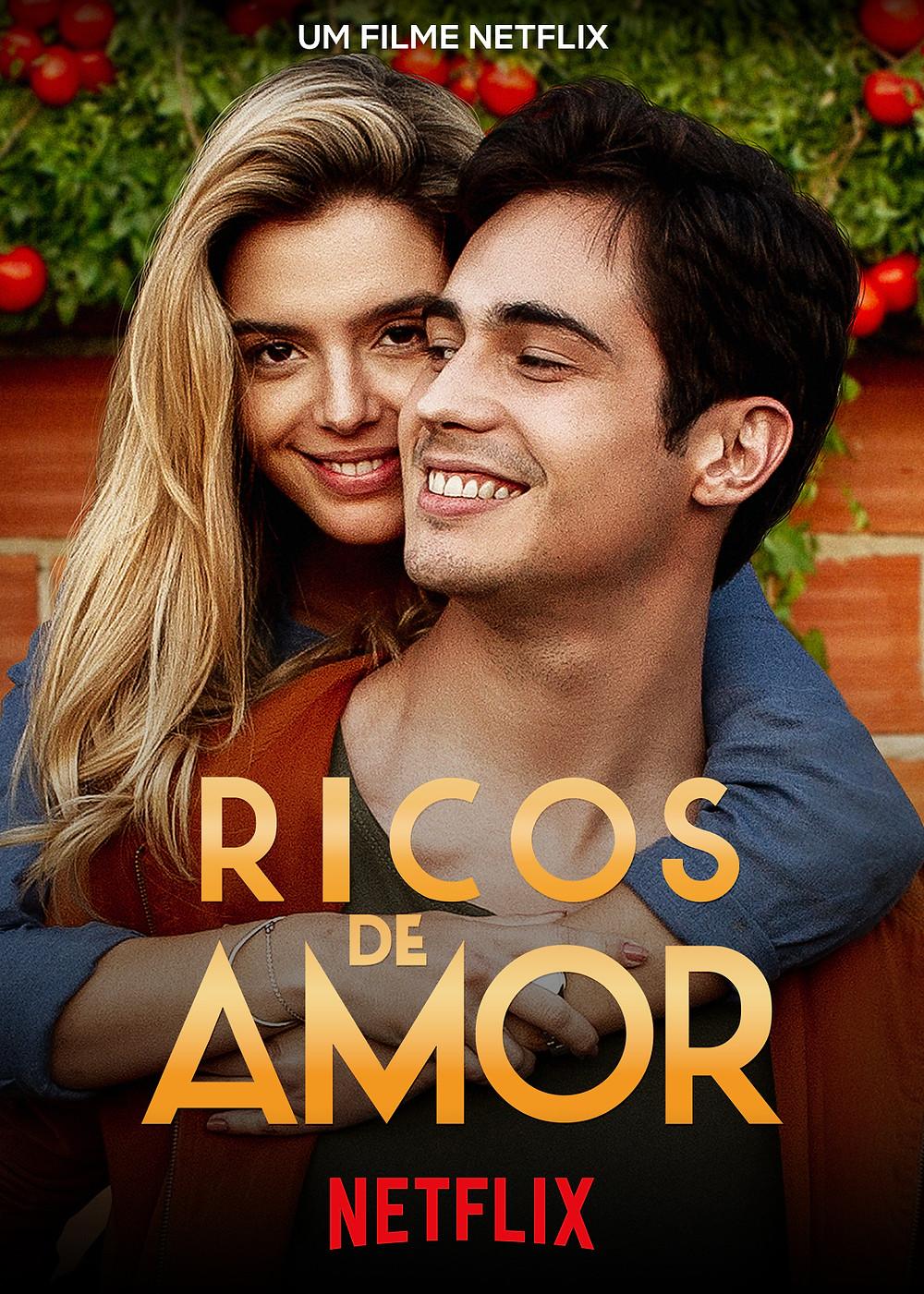 Pôster do filme Ricos de Amor (2020) | Divulgação (Netflix)