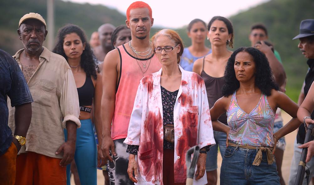 Sonia Braga e elenco em cena do filme nacional Bacurau (2019) | Foto: Divulgação (Créditos: Victor Jucá)