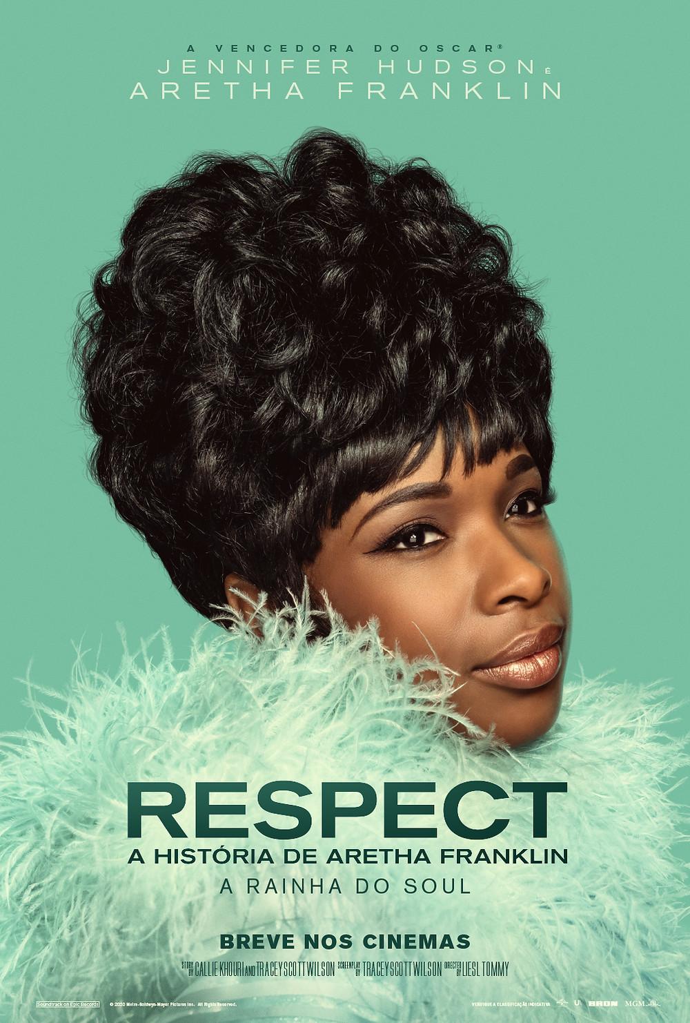 Cartaz do filme Respect: A História de Aretha Franklin (2020) | Divulgação (Universal Pictures)