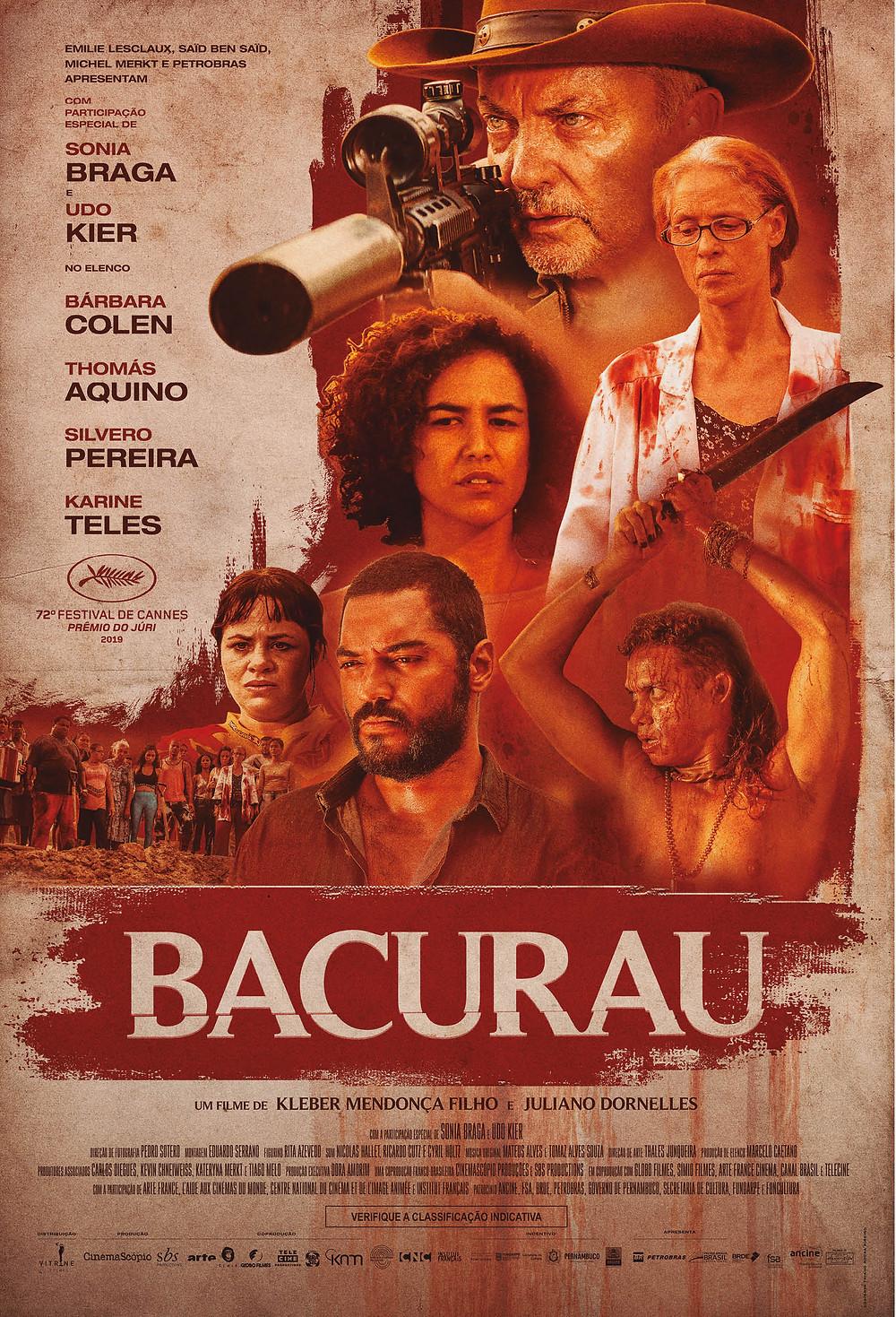 Cartaz 2 de Bacurau (2019) | Divulgação (Vitrine Filmes)