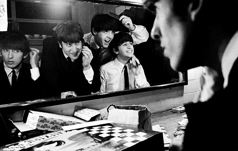 A banda The Beatles em cena do documentário The Beatles: Eight Days a Week – The Touring Years (2016) | Foto: Divulgação