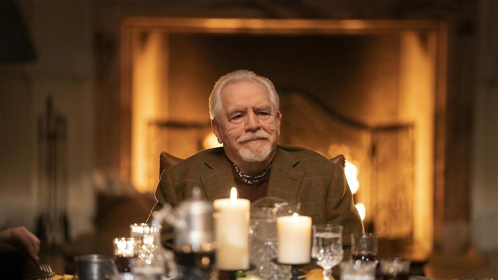 Brian Cox em cena da série Succession (2018-) | Foto: Divulgação HBO