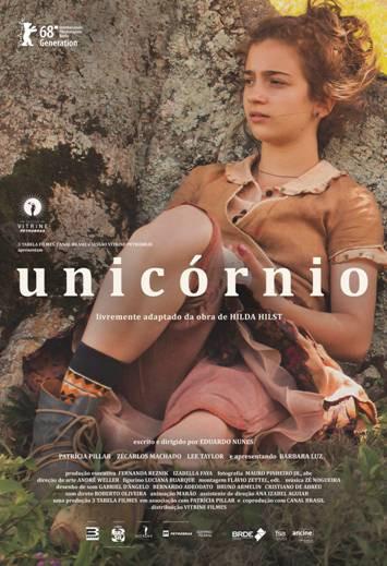 Cartaz do filme nacional Unicórnio (2017)   Divulgação (3 Tabela Filmes / Vitrine Filmes)