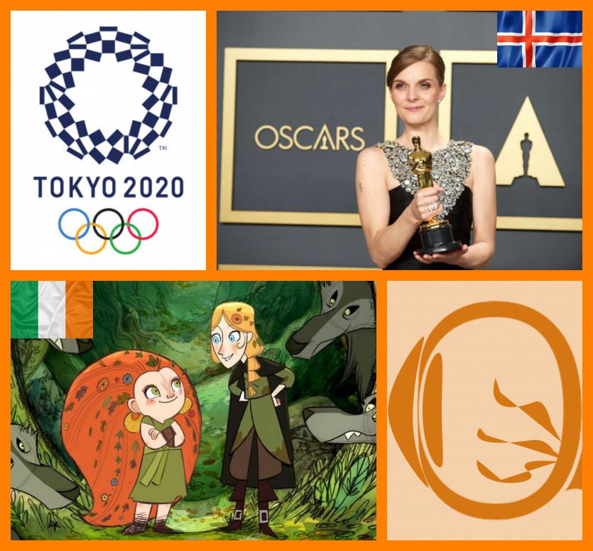 NERVOS em Série – Parada Cultural das Nações #2 | Islândia + Irlanda | Fotos da compositora islandesa Hildur Guðnadóttir e da animação irlandesa Wolfwalfers (2020)
