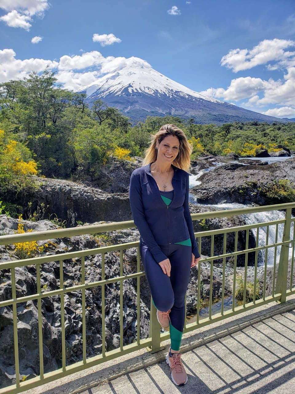 Didi Wagner no Chile durante as gravações da 18ª temporada do programa Lugar Incomum (2006-) | Foto: Divulgação (Multishow / Créditos: Laís Bartoli)