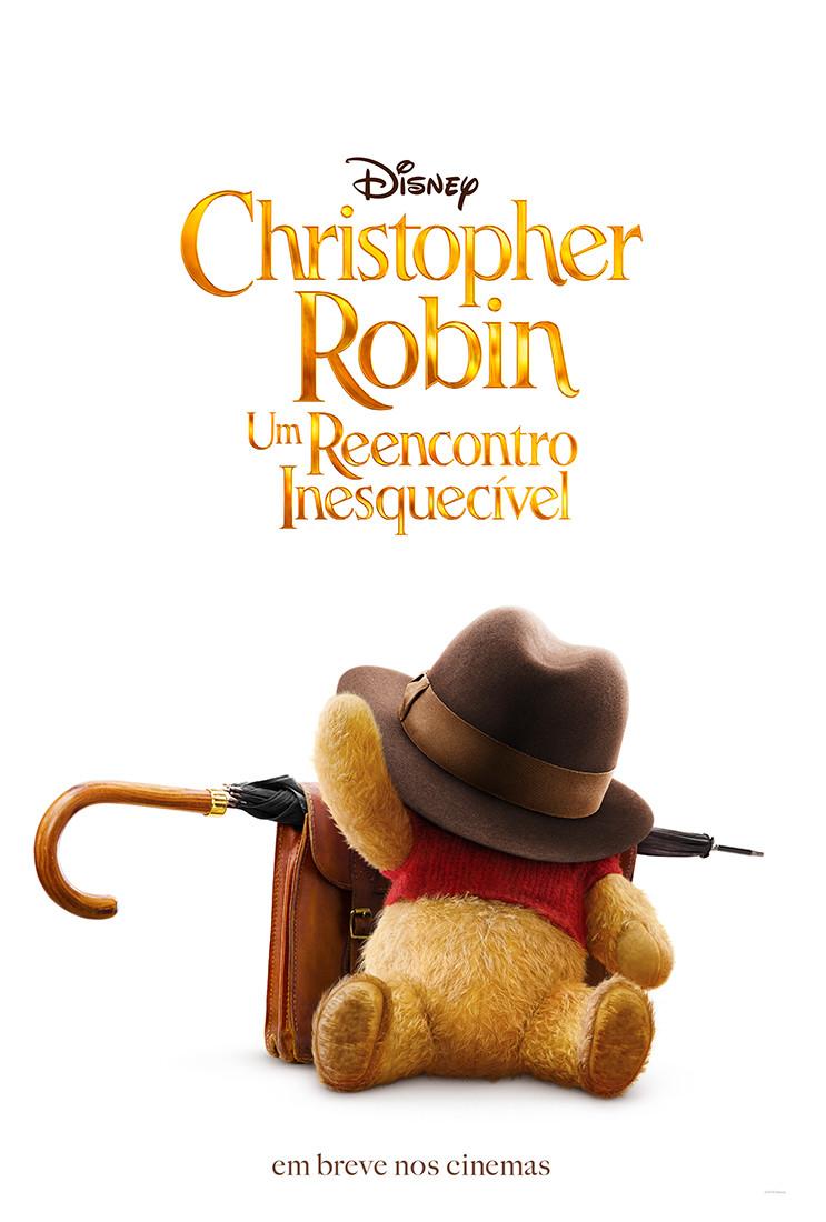 Teaser pôster de Christopher Robin – Um Reencontro Inesquecível (2018) | Divulgação (Disney)
