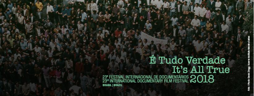 Cartaz da 23ª edição do festival É Tudo Verdade, de 2018 | Divulgação